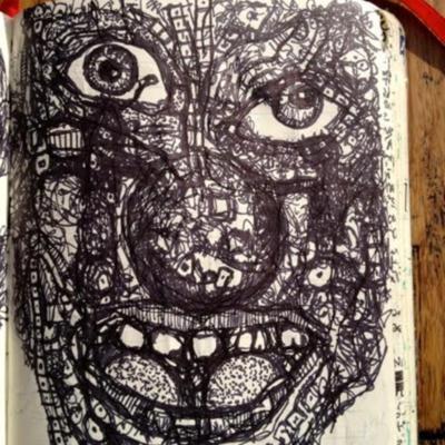Journal Drawing: Clown